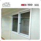 Casa prefabricada modificada para requisitos particulares del envase del emparedado del uso del hogar modular con la tarjeta de madera del revestimiento