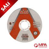 Disco excelente reforzado T41 del corte del acero inoxidable de la durabilidad de la marca de fábrica de Sali