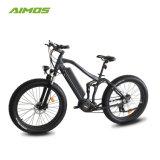 Bici elettrica del nuovo Bafang ultra METÀ DI motore 1000W di AMS-Tde-14b con la sospensione completa