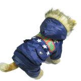 Обогрев теплой зимой собака вниз куртка