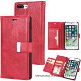 Кожаный бумажник с iPhone Samsung etc аргументы за телефона гнезд для платы
