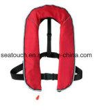 150n/275n automatisches und manuelles Neopren-aufblasbare Schwimmweste für Verkauf