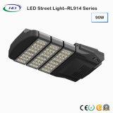Tipo modular luz de rua do diodo emissor de luz de 90W com excitador de Meanwell