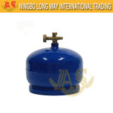La pequeña bombona de gas cilindro de gas para Europa