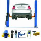 Duas colunas de fábrica preço de elevação Carro Hidráulico para venda com carregador de pneus do paralelismo para opção