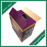 가득 차있는 플랩을%s 가진 색깔 마분지 포장 상자