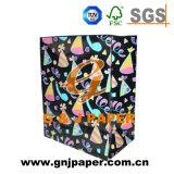 Nueva bolsa de papel 2017 para el empaquetado cosmético del rectángulo