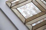 Новая мать конструкции 2017 плитки мозаики мрамора смешивания раковины перлы на стена 300*300mm
