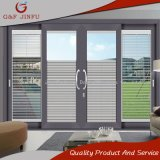 Aluminiumblendenverschluss-Schiebetür/Aluminium- und Glaspanel-Türen