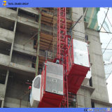 Ascenseur de construction de bâtiments de 2 tonnes/élévateur de construction