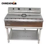 Seul réservoir en acier inoxydable friteuse électrique permanent (DZL-76B)