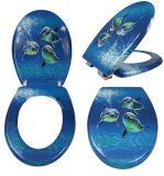 Siège des toilettes mou de PVC de nettoyage facile pour l'adulte