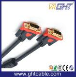 VGA Câble/ Mâle Vers Mâle/ Haute Vitesse/ (3 + 9 )pour Moniteur Ou Projeteur