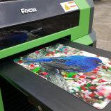 Stampante a base piatta UV utilizzata trasparente della stampatrice del biglietto da visita della scheda di plastica della cassa del telefono delle cellule