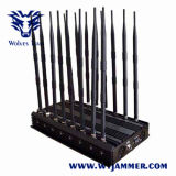 Justierbare 16 Antennen leistungsfähiger G-/M3g 4glte 4gwimax WiFi Fernsteuerungshemmer UHFvhf-GPS Lojack