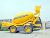 Windly verwendete den Dieselselbst 3.5 M3, der Betonmischer-selbstangetriebenen Hydraulikanlage-Betonmischer lädt