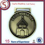 médaille courante personnalisée par 3D en métal