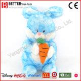 Preiswertes angefülltes Tier-weiches Kaninchen-Spielzeug-Plüsch-Häschen mit Karotte