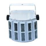 9*1W 9カラーリモート・コントロールのDJクラブ装置のための小型LED蝶レーザーの装飾ライト