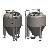 2 оборудование заваривать пива Micro нержавеющей стали 304 сосудов