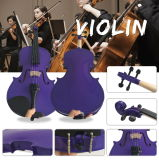 Violinen-Kohlenstoff-Fiberglas-Violinen-Bogen mit Ebenholz-Frosch