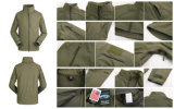 Jacket AuのEsdy Softshellの防水防風のコートの軍の戦術的な司令官