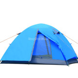 Una tenda dei 2 uomini, tenda di campeggio di doppio strato (Palo di alluminio)