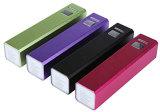 Mini Powerbank batería portable promocional de la potencia del regalo 2600mAh con RoHS