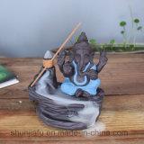 Keramischer Ganesh Duft-Brenner für Dekoration