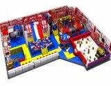 Animar as crianças de diversões temático equipamentos de playground coberto de neve