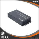 1X 100Base-FX para 4X 10/100Base Portas UTP BIDI T1550/R1310nm 60km Conversor de mídia de switch de fibra
