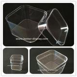 Pequeño rectángulo plástico claro al por mayor