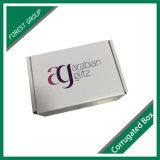 Querstreifen-Spitzenkosmetik-gewölbter Verpackungs-Kasten mit kundenspezifischem Drucken