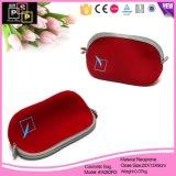Sacchetto cosmetico del neoprene rosso fragile di modo (8282)