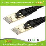 Cable de interior de la fabricación 24AWG Cat5e con ISO9001