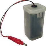 Einzelner Griff-Messingbassin-Fühler-Hahn-elektronischer Hahn mit Batterie-Steuerkasten