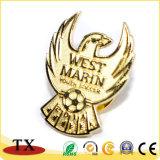 Сувенирные Металлическая булавка Выгравированный знак