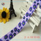 Mode ruban Grosgrain fleur imprimé pour l'Emballage de cadeau promotionnel