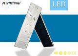 Solar inteligente de la calle Lighs LED lámpara de carretera con Ce/RoHS aprobado