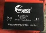 방글라데시 6-Dzm-35 건전지에 있는 전기 인력거에 사용되는 유지 보수가 필요 없는