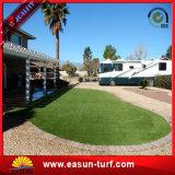 Hierba artificial natural verde para la decoración del jardín