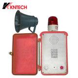 D'URGENCE VoIP Koontech Outdoor téléphone téléphone SIP IP66 étanche