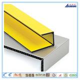 Hecho en el panel compuesto de aluminio decorativo de la pared exterior de China PVDF