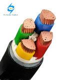 Подземные IEC ПВХ пламенно 0.6/1кв медные 4 Core 25мм кабель питания