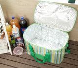 Venda por grosso de gelo 600d personalizadas almoço saco térmico com isolamento térmico