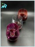 Пластмассовых Пэт Stemware чашка кружке вина