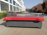 Impresora ULTRAVIOLETA del área de impresión los 2.5*1.3m LED, impresora blanca de la tinta, impresora ULTRAVIOLETA del formato grande