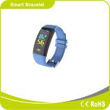 Colorare la fascia Android dell'orologio di Digitahi Bluetooth del video di frequenza cardiaca di Srceen