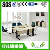 Tabela de reunião de madeira moderna do escritório da alta qualidade com cadeira (CT-19)