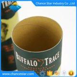 カスタム装飾的なペーパーワインのギフトの円形のボール紙の筒